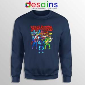 King Gizzard Masters Navy Sweatshirt King Gizzard and the Lizard Wizard