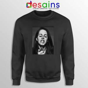 Lana Del Rey Smoking Sweatshirt Cheap Gildan Sweater Lana Poster