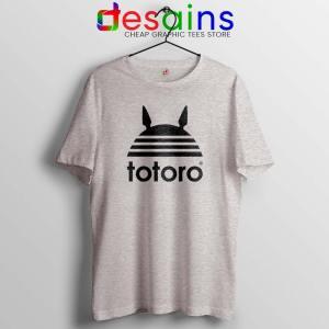 My Neighbor Totoro Adidas Tshirt Totoro Parody Tee Shirts S-3XL