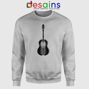 Shawn Mendes Guitar Tattoo Sport Grey Sweatshirts Shawn Mendes Tattoo Merch