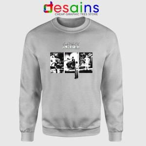 The Lamb Lies Down on Broadway Sport Grey Sweatshirt Genesis Band Sweater