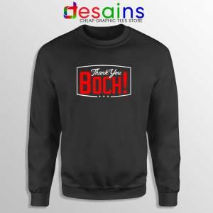 Boch Thank You Navy Sweatshirt Bruce Bochy Baseball Sweater S-2XL