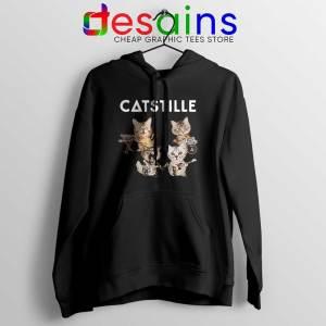 Catstille Band Bastille Cats Black Hoodie Funny Bastille Hoodies S-2XL
