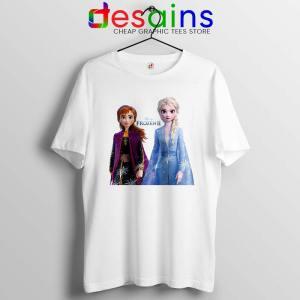 Elsa Anna Frozen 2 Tshirt Disney Film Merch Tee Shirts Size S-3XL