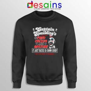 Fried Chicken and Gasoline Sweatshirt Captain Spaulding Sweater S-3XL