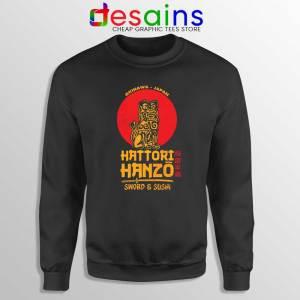 Hattori Hanzo Kill Bill Sweatshirt Japanese Samurai Sweater S-3XL