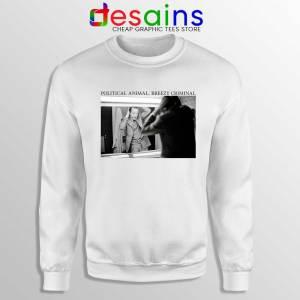Jacques Chirac Political Animal Sweatshirt Breezy Criminal Sweater S-2XL