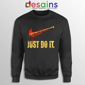 Lucille Just Do It Sweatshirt The Walking Dead Sweater Size S-3XL
