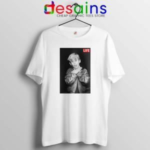 Macaulay Culkin Life Actor Tshirt Celebrity Tee Shirts S-3XL