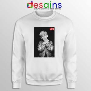 Macaulay Culkin Life Sweatshirt American Actor Sweater S-3XL