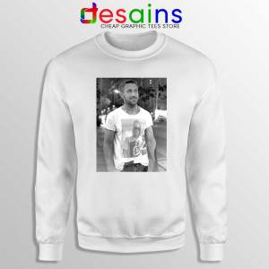 Ryan Gosling Wearing Macaulay Culkin Sweatshirt Celebrity Sweater