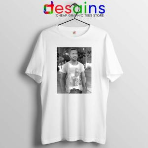Ryan Gosling Wearing Macaulay Culkin Tshirt Celebrity Tee Shirts S-3XL