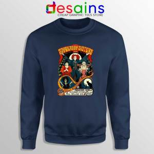 Sanderson Sisters Navy Sweatshirt Hocus Pocus Sweater GILDAN USA