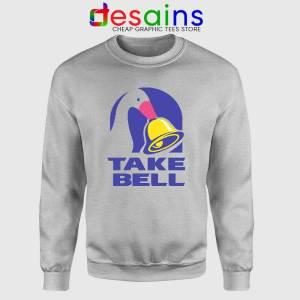 Take Bell Taco Sport Grey Sweatshirt Taco Bell Sweater