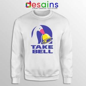 Take Bell Taco Sweatshirt Taco Bell Sweater GILDAN USA S-3XL