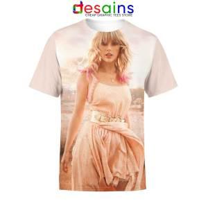 Taylor Swift Entertainment Art Tshirt Full Print Designs Tee Shirts S-3XL
