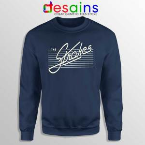 The Strokes Rock band Sweatshirt Music Bands Sweater Size S-3XL