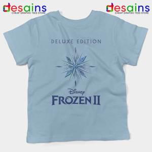 Frozen 2 Soundtrack Sky Blue Kids Tshirt Disney Movies Frozen 2 Tees