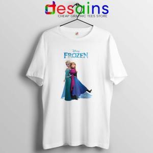 Frozen Anna and Elsa Tshirt Frozen 2 Film Tee Shirts S-3XL