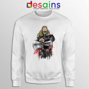 God of Thunder Thor Sweatshirt Avengers Endgame Sweater S-3XL
