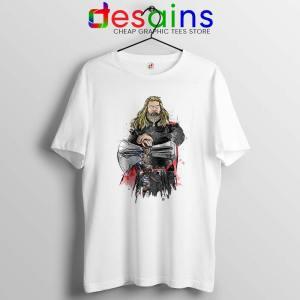 God of Thunder Thor Tshirt Avengers Endgame Tee Shirts S-3XL