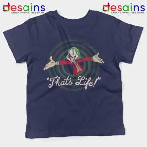 Joker Thats Life Kids Tshirt Looney Tunes Youth Tees S-XL