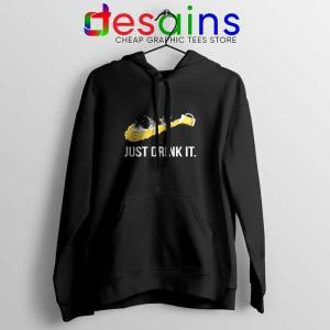 Just Drink It Hoodie Just Do It Drink Hoodies Size S-2XL