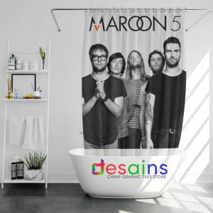 Maroon Five Concert Shower Curtain Maroon 5 Poster Curtains Shop