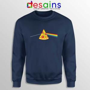 Pink Floyd Pizza Navy Sweatshirt Dark Side of the Pizza Sweater S-3XL