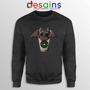 Toothless Dragon Coffee Sweatshirt How to Train Your Dragon Sweater