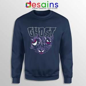 Ghost Pokemon Haunter Navy Sweatshirt Pokemon Sweater S-3XL