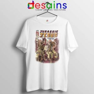 Jurassic Jesus Christmas Tshirt Jurassic Park Tee Shirts S-3XL