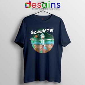 Sound of Science Rick Navy Tshirt Get Schwifty Tee Shirts S-3XL