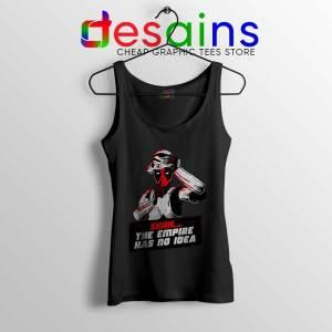 Deadpool Stormtrooper Helmet Black Tank Top Star Wars Funny Tops