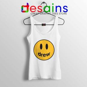 Drew Smile Face Tank Top Drew House Justin Tops S-3XL