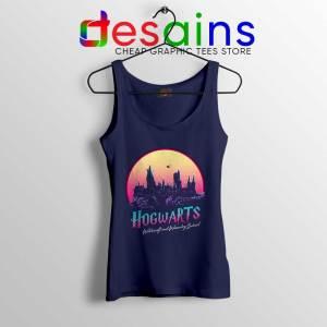 Hogwarts School of Magic Navy Tank Top Harry Potter Tops