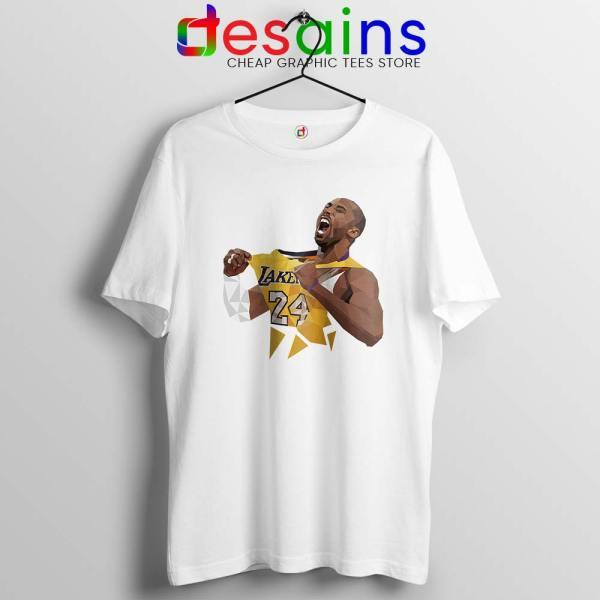 Kobe Bryant Lakers Jersey Art Tshirt Kobe Bryant RIP Tee Shirts S-3XL