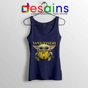 Wu Tang Clan Baby Yoda Navy Tank Top The Child Yoda Tops