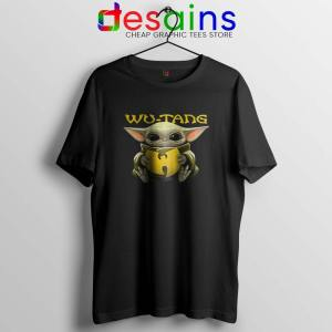 Wu Tang Clan Baby Yoda Tshirt The Child Tee Shirts S-3XL
