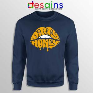 Dirty Honey Logo Merch Navy Sweatshirt American Rock Band Sweaters