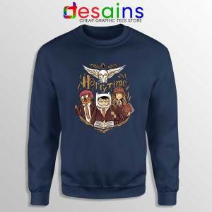 Harry Potter Adventure Time Navy Sweatshirt Harry Time Sweaters