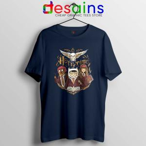 Harry Potter Adventure Time Navy Tshirt Harry Time Tees