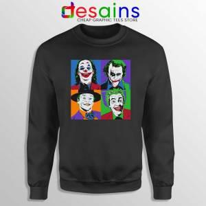 Joker Movie Pop Art Sweatshirt DC Comics Merch Sweaters S-3XL