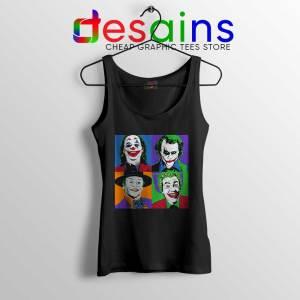 Joker Movie Pop Art Tank Top DC Comics Merch Tops S-3XL