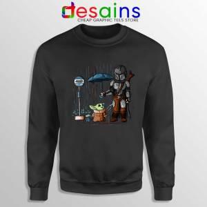 My Neighbor Baby Yoda Sweatshirt The Mandalorian Sweaters S-3XL