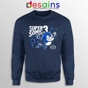 Sonic in Super Mario Bros 3 Sweatshirt Super Hedgehog Sweaters S-3XL