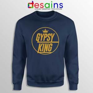 Tyson Fury Gypsy King Navy Sweatshirt Boxer WBC Sweaters S-3XL