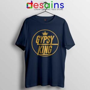 Tyson Fury Gypsy King Navy Tshirt Boxer WBC Tee Shirts S-3XL