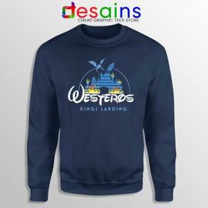 Westeros Kings Landing Disney Navy Sweatshirt Game of Thrones