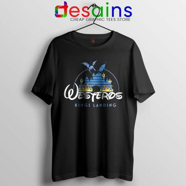 Westeros Kings Landing Disney Tshirt Game of Thrones Tee Shirts S-3XL